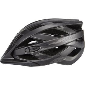UVEX I-VO CC Kask rowerowy, black/smoke mat